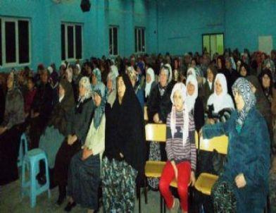 Hisarcık'ta 'peygamber Efendimizin Aile Hayatı' Konulu Konferans