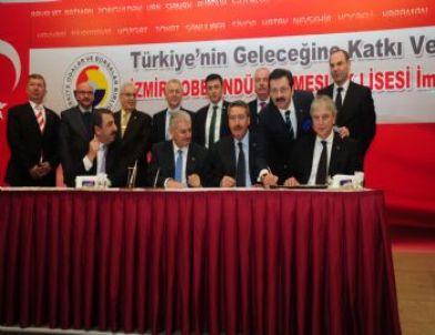 İzmir'e Tobb'dan Mesleki Eğitim Kampüsü