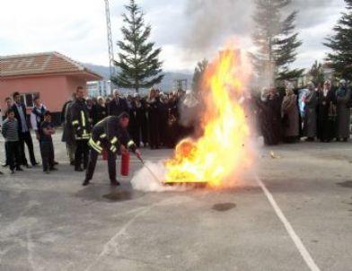 Kuran Kursu'nda Yangın Tatbikatı