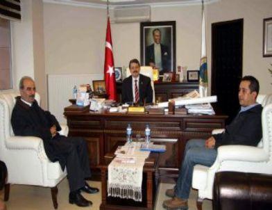 Sanko Holding Bartın İşletme Müdürü'nden Belediye Başkanı'na Ziyaret