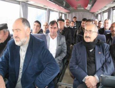 Yozgatlı Çiftçiler Türk Traktör Fabrikasını Gezmeye Gitti