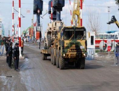 AbBD Patriot Füze Rampaları Gaziantep Yolunda