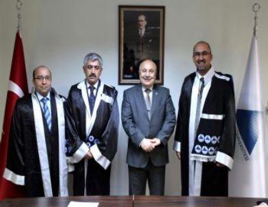 Adıyaman Üniversitesi'nde 3 Öğretim Üyesi Doçent Unvanı Aldı
