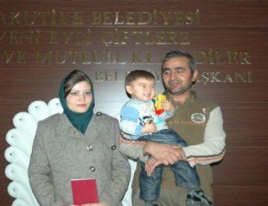 Afganlı Çift, Erzurum'da Resmi Nikah Kıydırdı