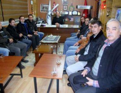 Ak Parti Gediz Gençlik Kolları Gökler Belediyesi'ni Ziyaret Etti