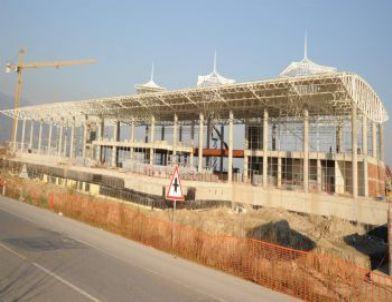 Aydın Yeni Terminal Kompleksinde Çalışmalar Tüm Hızıyla Sürüyor