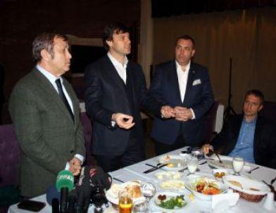 Bursaspor'da Sağlam'a Veda Yemeği