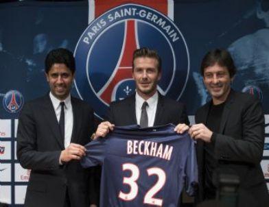 David Beckham, Psg İle Sözleşme İmzaladı