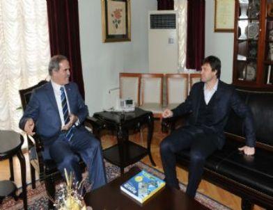 Ertuğrul Hoca'dan Başkan Altepe'ye Veda Ziyareti