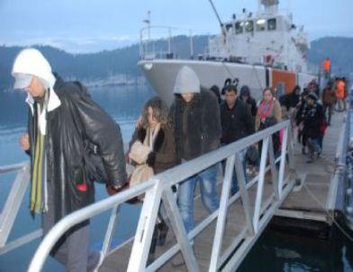 Fethiye'deki Kaçak Göçmen Operasyonunda 2 Tutuklama