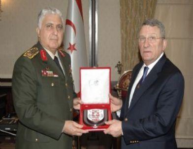 İstifa Eden Oramiral Güner'den Genelkurmay Başkanı Özel'e Veda Ziyareti