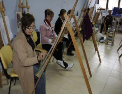 Karaman'da Resim Kursuna İlgi Artıyor