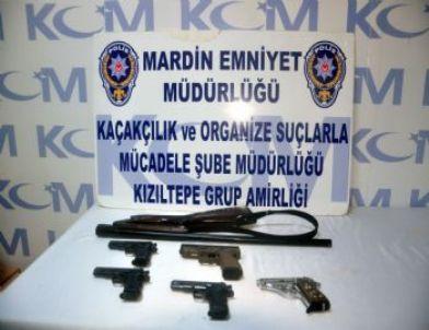 Kızıltepe'de Silah Operasyonu