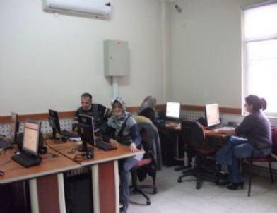 Kuyucak'ın Yaşlılarının Bilgisayar Merakı