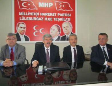 """Mhp Genel Başkan Yardımcısı Çetin: """"imralı Süreci Türkiye'nin Kabul Edebileceği Süreç Değil"""""""