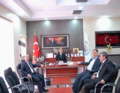 Mhp İl Başkanı Aslan'dan Başkan Kılçık'a Ziyaret