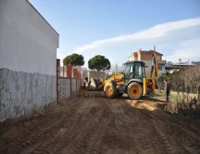 Nazilli'de Üst Yapı Çalışmaları Sürüyor