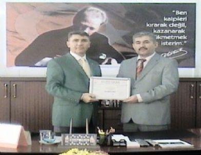 Ödemiş Tapu Müdürlüğü'ne Kalite Ödülü
