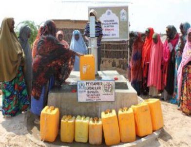 Peygamber Sevdalıları Platformu'ndan Afrika'ya Su Kuyusu