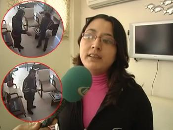 Sazanlı dolandırıcılar kamerada