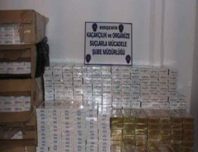 Sebze Çuvalları Arasında 7 Bin 280 Paket Kaçak Sigara Yakalandı