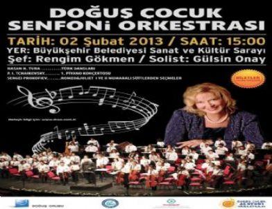 Türkiye'nin İlk Çocuk Senfoni Orkestrası Eskişehir'de Konser Verecek