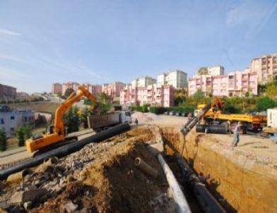 Yenikent İsale Hattı Tamamlanıyor