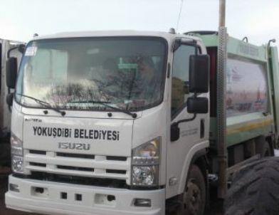 Yokuşdibi Belediyesi'ne Çöp Kamyonu