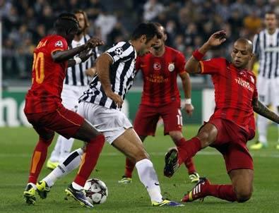 Juventus - Galatasaray: 2-2 Maç Sonucu