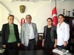 SÜRÜCÜ EHLİYETİ - Akdeniz Kent Konseyi Kadın Meclisi'nde Şoförler ve Otomobilciler Odası'na Ziyaret