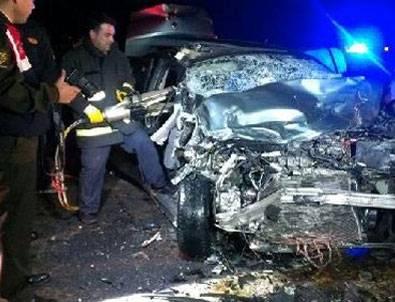 Düzce'de feci kaza: 2 ölü, 3 yaralı!