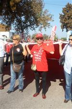 KEMAL ÖZGÜN - Ayvalık'ta Cumhuriyet Coşkusu Sokaklara Taştı