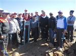 Kırıkkale'de Denek Dağına Cumhuriyet Yürüyüşü Düzenlendi