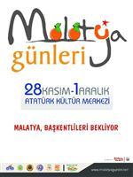MALATYA GÜNLERİ - Malatya Günleri Ankara'da Başlıyor