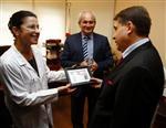 BILGIN BALANLı - Behçet Uz Çocuk Hastanesi'ne İki Adet Damar Görüntüleme Cihazı