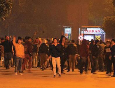 Adana'da maç sonrası karıştı!