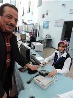 BİYOMETRİK KİMLİK - Avuç İçi Taramaya Hastalardan 'fişleniyormuyuz'Tepkisi