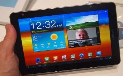 Samsung'un AMOLED ekranlı tableti çok yakında tanıtılabilir!