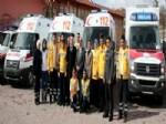 RUHİ AÇIKGÖZ - Aksaray'a 4 Yeni Ambulans