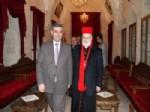 Mardin Müftüsü Coşkun'dan Metropolite Ziyaret