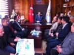 Ak Parti Mardin İl Yönetiminden Ömerli Belediyesi'ne Ziyaret
