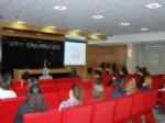 Boğazkale Kaymakamı Uyan'dan Üniversitede 'kadın' Konulu Konferans