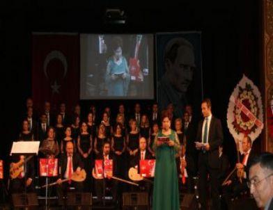 Sgk Türk Halk Müziği Korosu, 'şehitler Haftası' Dolayısıyla Konser Verdi