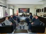 İRFAN BAKıR - Diyanet Sen'den Kaymakam Sağ'a Ziyaret