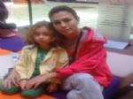 LEYLA BİLGİNEL - Ünlü Oyuncu Leyla Bilginel, Minik Oğlu Kayra İle Bodrum'da