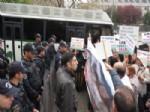 Tonyalıların Meclis Önündeki Çimento Fabrikası Protestosu