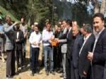 ARSLAN YURT - Gerede'de Esentepe Parkı'nın Temeli Atıldı