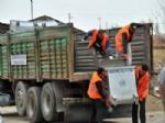 ENGILI - Akşehir Belediyesi, Köylerde Temizlik Hizmetlerine Başladı