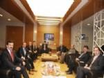 Belediye Başkanları'ndan Alkan'a Ziyaret