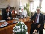 İşadamı Öztaş Başkan Uzunkaya'yı Ziyaret Etti